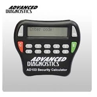 Advanced Diag. Replacement Security Calculator