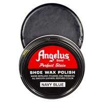 Angelus Perfect Stain Wax Shoe Polish 60ml Navy Blue