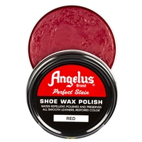 Angelus Perfect Stain Wax Shoe Polish 60ml Red