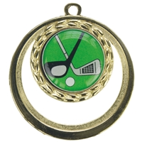 BSME15GG 50mm Cut Out Medal - Gold