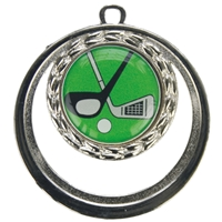 BSME15ZG 50mm Cut Out Medal - Silver