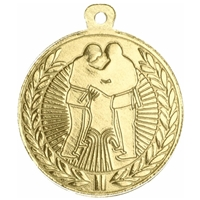 45mm Judo Medal - Gold