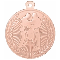 45mm Judo Medal - Bronze