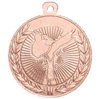 45mm Karate Medal - Bronze