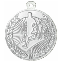 45mm Running Medal - Silver