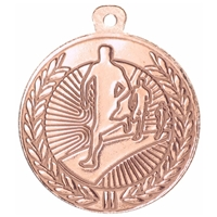 45mm Running Medal - Bronze