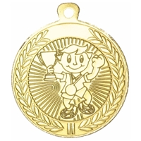 45mm Childrens Medal - Gold