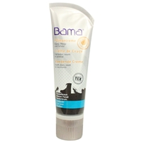 Bama Shoe Cream Tube with Applicator Sponge Dark Brown 33 75ml