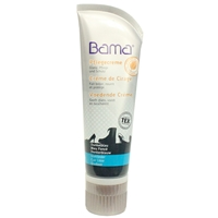 Bama Shoe Cream Tube with Applicator Sponge Navy Dark Blue 82 75ml