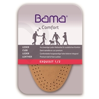 Bama Exquisit Leather Half Insoles, Ladies Small Size 2-3, Euro 35-36