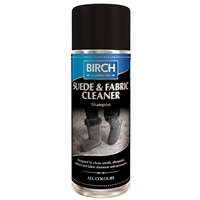 BIRCH Suede & Fabric Cleaner Aerosol 200ml