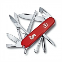 Swiss Army Knife Fisherman, Red