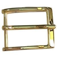 35mm Belt Buckle Brass Finish