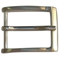 35mm Belt Buckle Nickel Finish