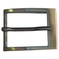 35mm Belt Buckle Gunmetal Finish
