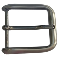 40mm Belt Buckle Gunmetal Finish