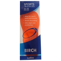 BIRCH Sports EVA Insole Ladies Size 35-40