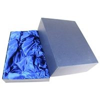 375 x 280 x 140mm Blue Silk Lined Presentation
