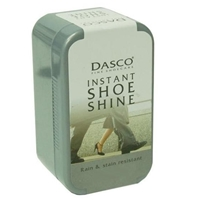 Dasco Instant Shoe Shine Black, With Sponge 75ml