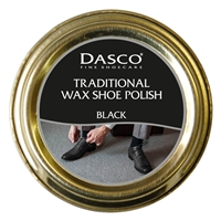 Dasco Waxed Shoe Polish Black 50ml