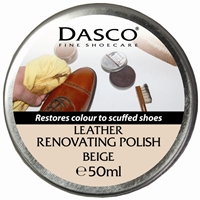 Dasco Renovating Shoe Polish Beige 50ml