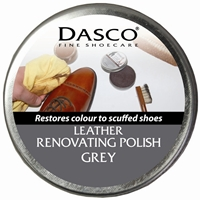 Dasco Renovating Shoe Polish Grey 50ml