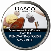 Dasco Renovating Shoe Polish Navy Blue 50ml