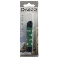 Dasco Laces Flat 60cm Navy Blue Blister Packed