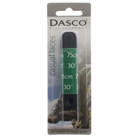 Dasco Laces Flat 75cm - Navy Blue Blister Packed