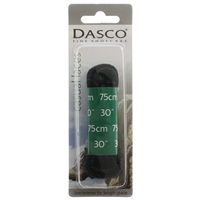 Dasco Laces Chunky Cord 75cm Black Blister Packed