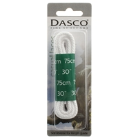Dasco Laces Chunky Cord 75cm White Blister Packed