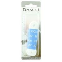 Dasco Laces Flat 100cm White Blister Packed
