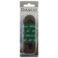Dasco Laces Leather 120cm Brown Blister Packed