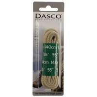 Dasco Laces Chunky Cord 140cm Beige Blister Packed