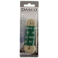 Dasco Laces Chunky Cord 140cm Stone Blister Packed