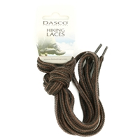 Dasco Laces Hiking Cord 140cm Black -Brown