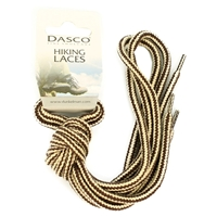 Dasco Laces Hiking Cord 140cm Beige -Brown
