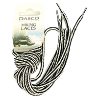 Dasco Laces Hiking Cord 140cm Black -White