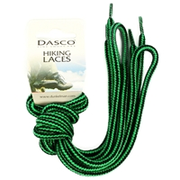 Dasco Laces Hiking Cord 140cm Green -Black