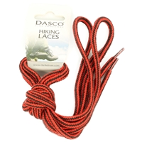 Dasco Laces Hiking Cord 140cm Red -Black