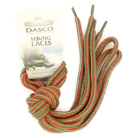 Dasco Laces Hiking Cord 140cm Red -Green