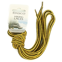 Dasco Laces Hiking Cord 140cm Yellow-Black