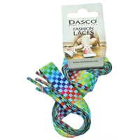 Dasco Extra Wide Rainbow Check Flat 120cm Euro Hook