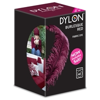 New Dylon Machine Fabric Dye Burlesque Red (51) 350g