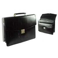 8895 Bonded Leather Briefcase