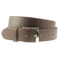 Brown Leather Belt 30mm Wide - Medium - 110cm