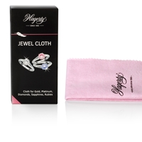 Hagerty Jewel Cloth 36x30cm Cleans gold, platinum,