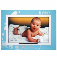 6x4 Inch Blue Baby Picture Frame