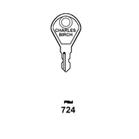 Hook 724 SRC1 Saracen Maxim Window Key (TS7538)