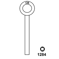 Hook 1284 Chubb Window Lock